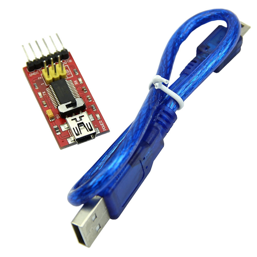 Ftdi ft basic pin usb ttl v for arduino pro