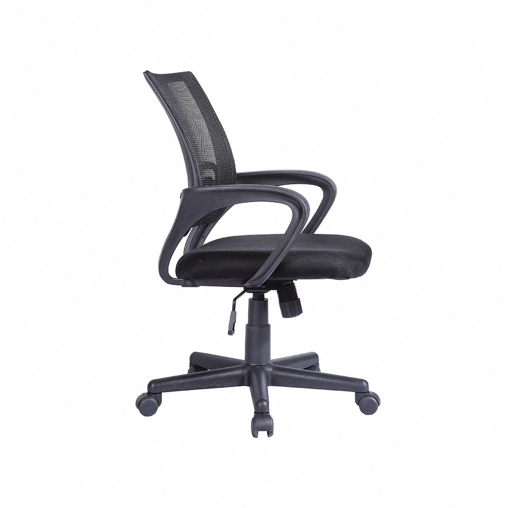 high back black mesh computer office chair executive swivel adjustable
