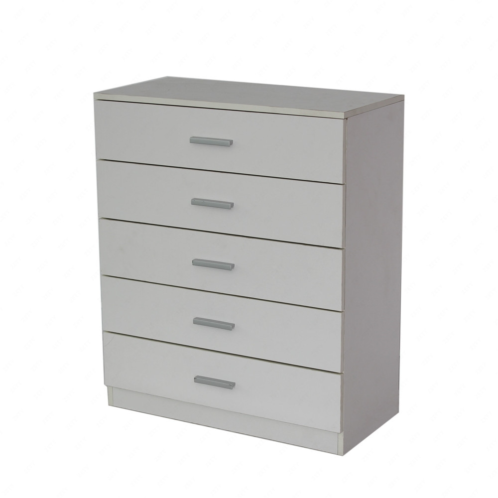 Bn design white chest of drawers storage cabinet w 5 - Bedroom storage cabinets with drawers ...