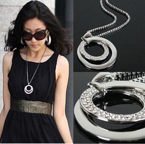 Chic-Women-Pendant-Chain-Crystal-Rhinestone-Choker-Chunky-Statement-Bib-Necklace