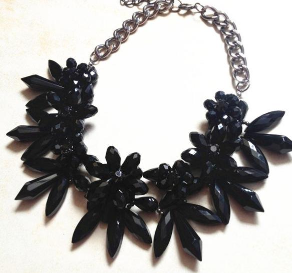 Hot Fashion Jewelry Pendant Chain Choker Crystal Statement Necklace Bib Chunky