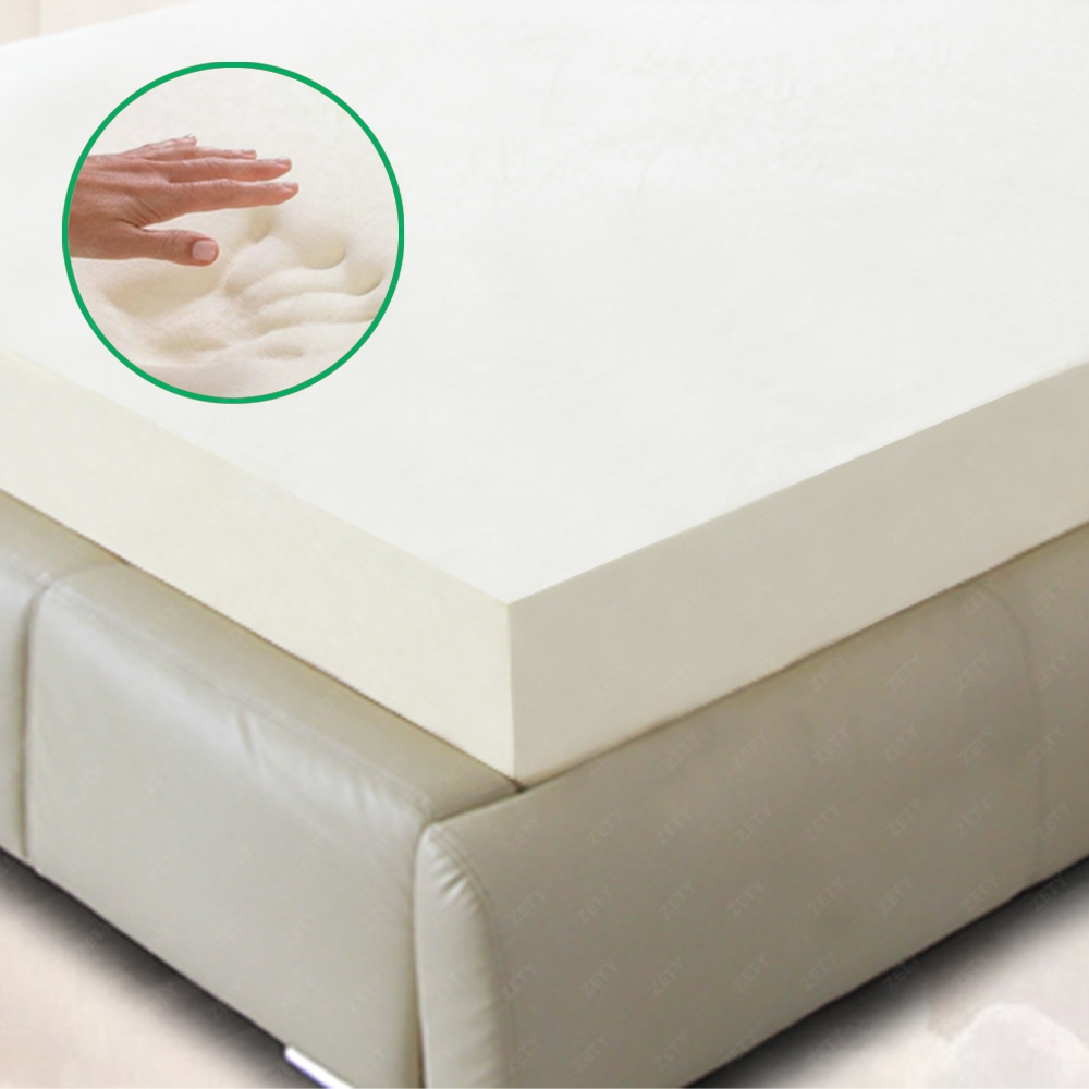 5 5 Comfort Select 2 3 4 Twin Full Queen King Memory Foam Mattress Topper Ebay