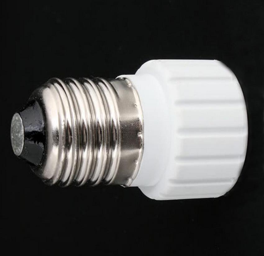 Gu10 Base: E27 To GU10 Extend Base LED CFL Light Bulb Lamp Adapter