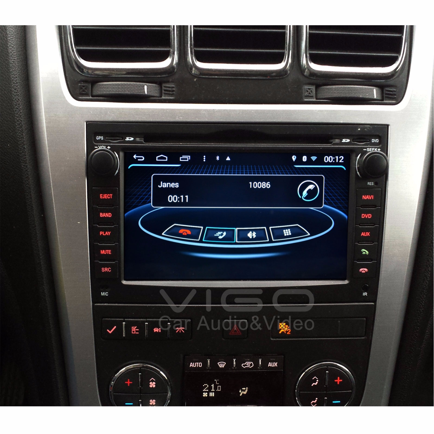 android 4 4 4 car stereo gps navigation for chevy. Black Bedroom Furniture Sets. Home Design Ideas