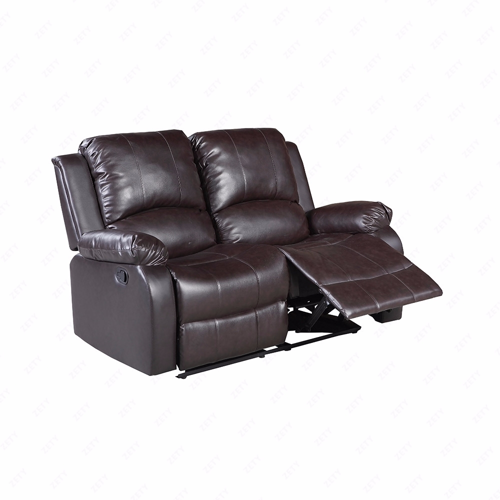 3 Set Sofa Loveseat Chaise Couch Recliner Leather Living Room Furniture Brown 713803618968
