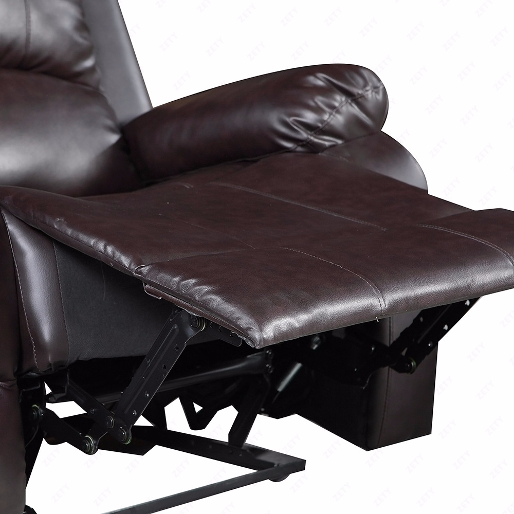 Brown 3 set sofa loveseat chaise couch recliner leather for Brown leather sofa with chaise lounge