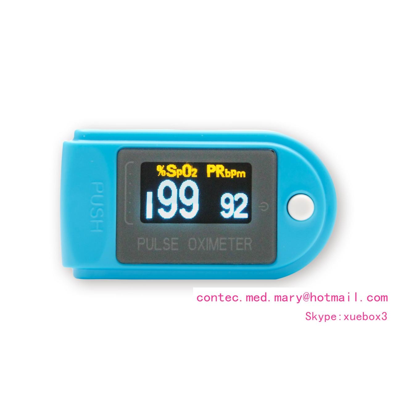 ... Finger tip pulse oximeter, blood oxygen saturation monitor,PR SPO2