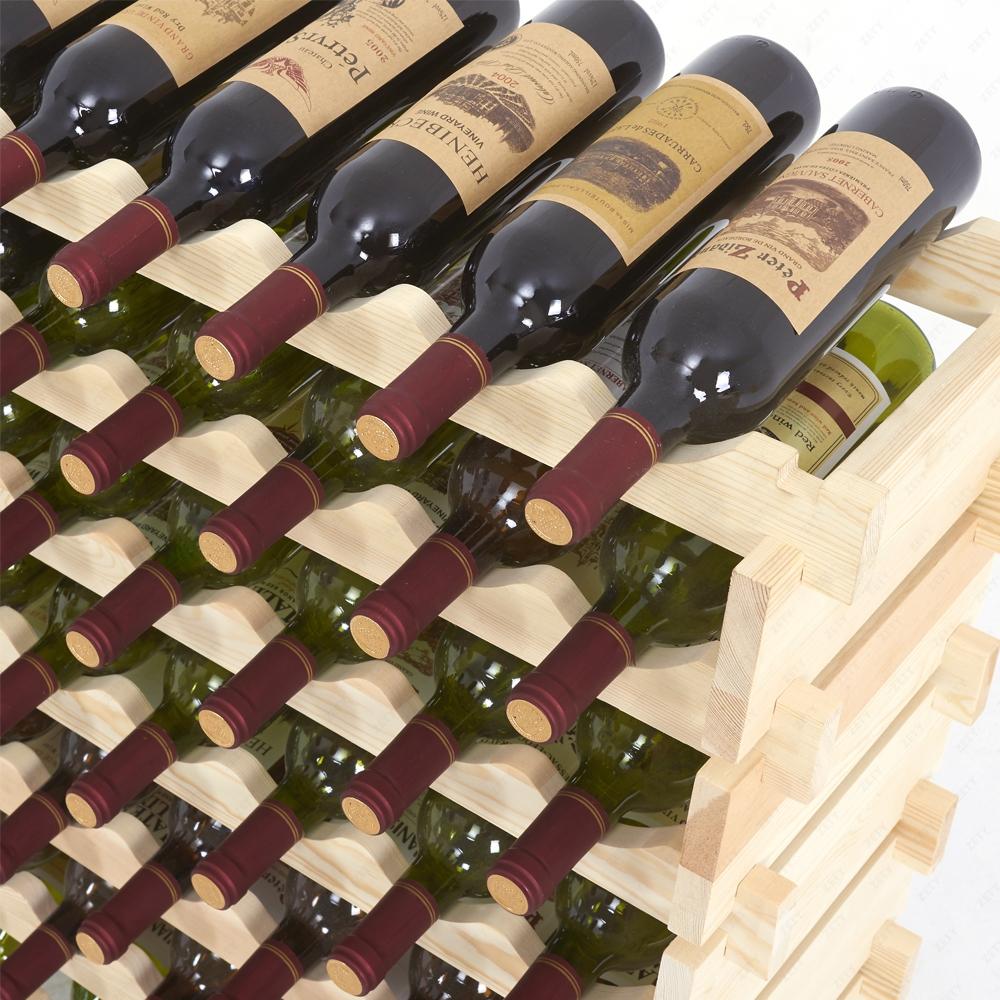 casier à vin en bois innovant de 6 bouteilles 13