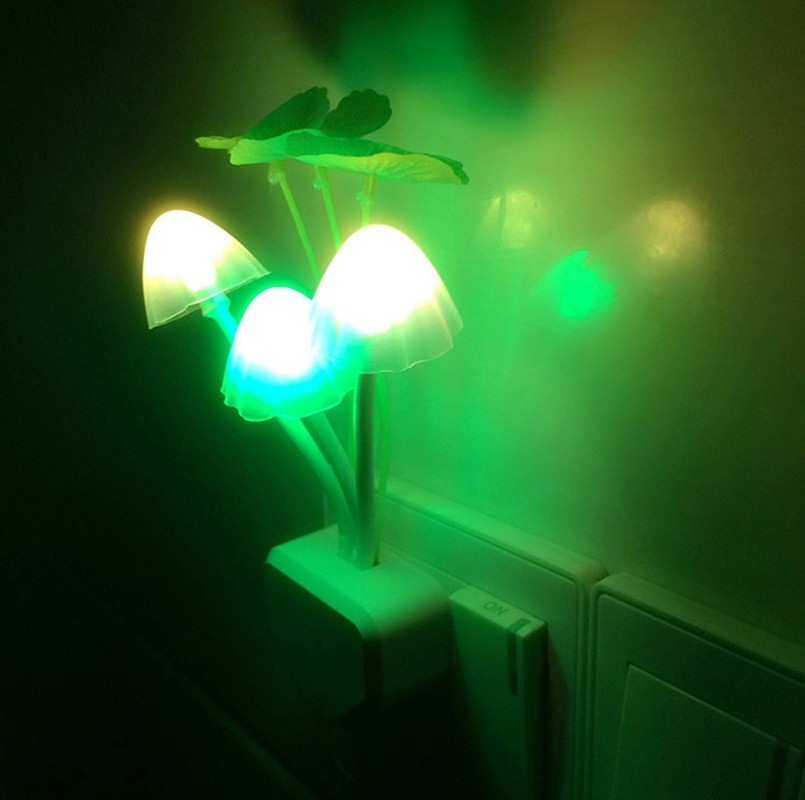 Baby Children Room Decoration Nursery Bedside Led Mushroom