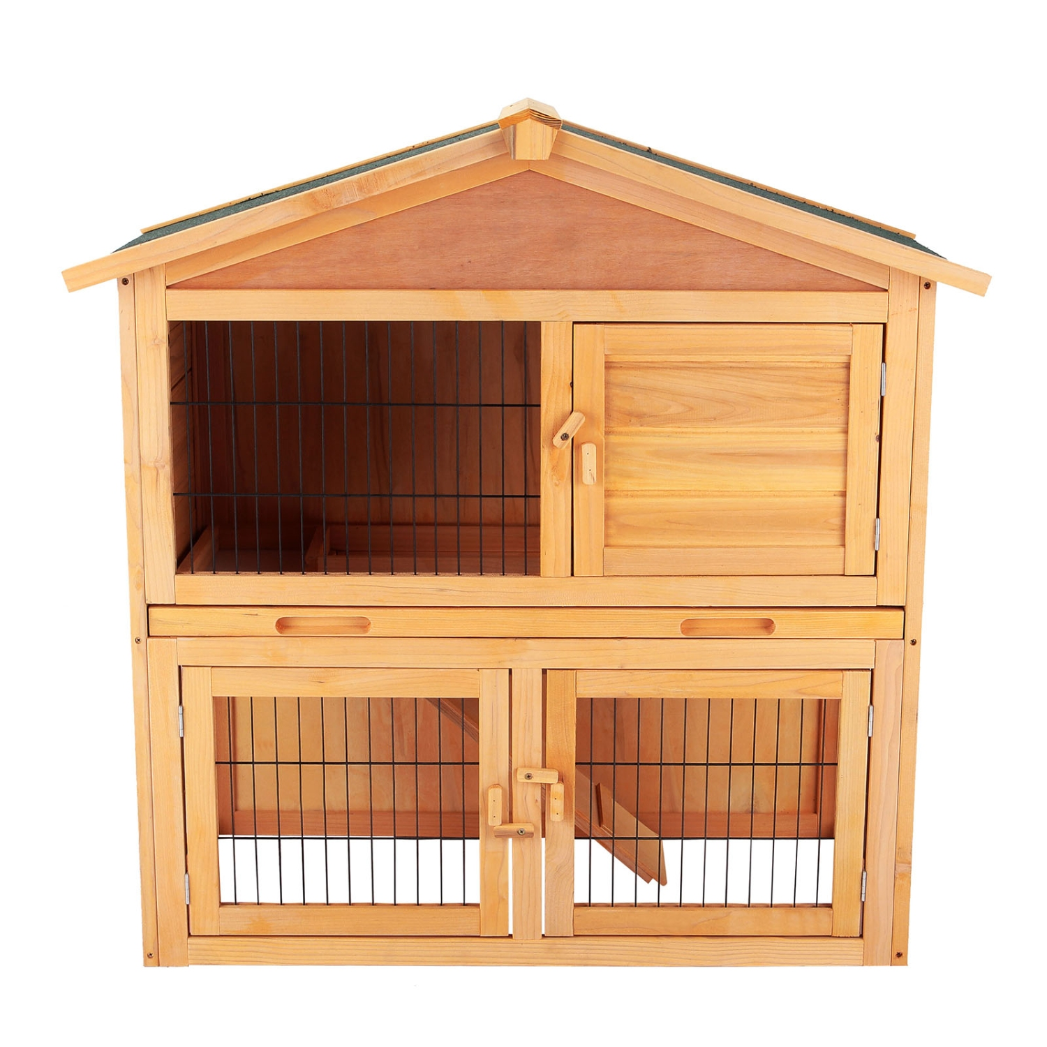 40 wooden cage chicken coop rabbit hutch hen house