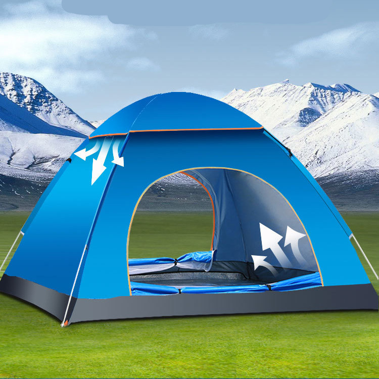 Large Pop Up Shelter : Large person waterproof instant pop up tent camping