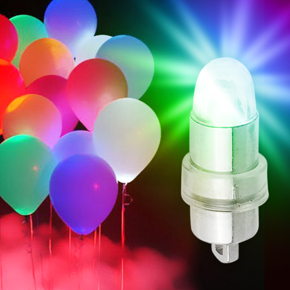 Led mini balloon lamps bulbs string lights lantern decor for Balloon string decorations