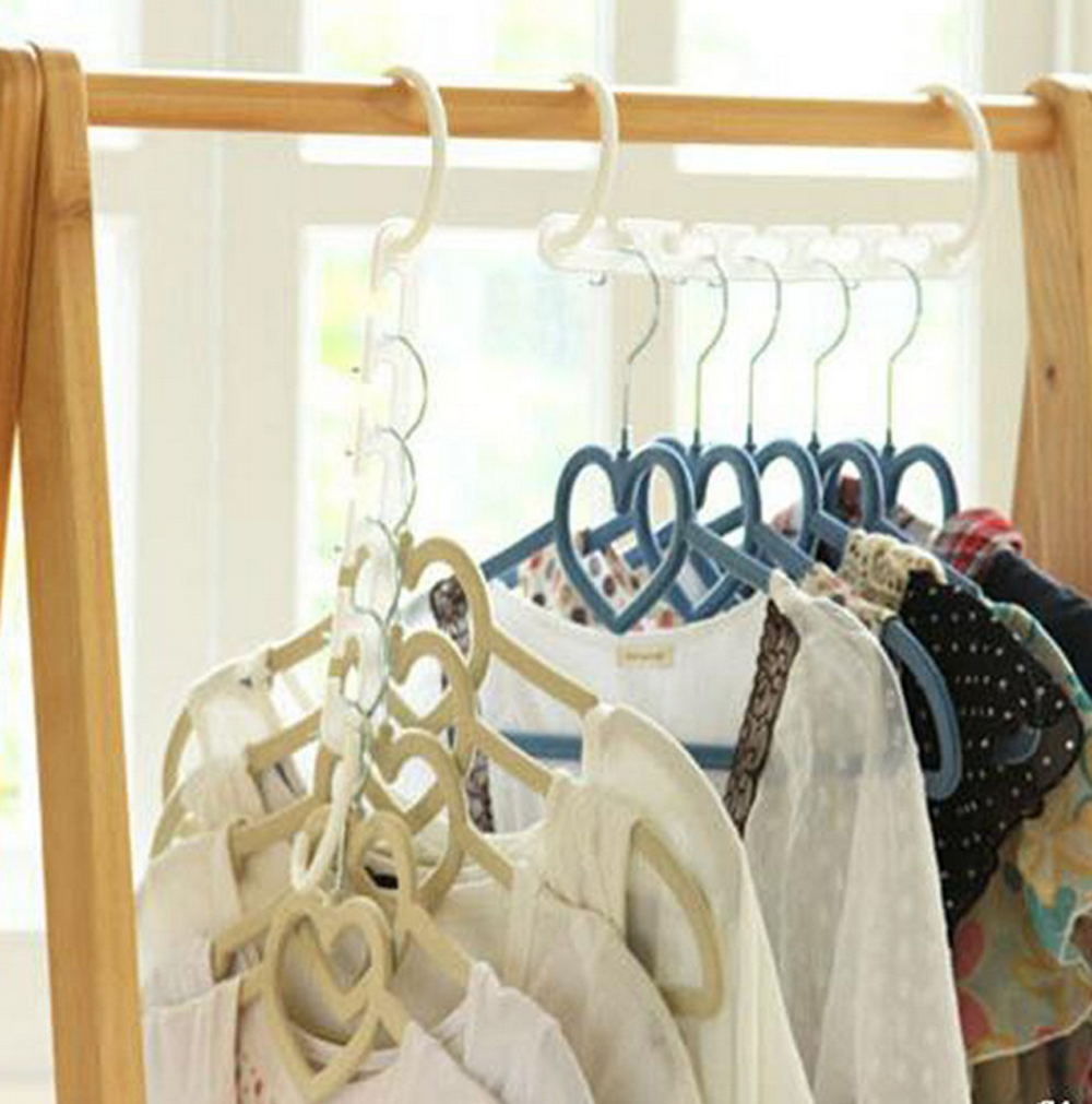Multi Function Clothes Hangers Space Saving Closet: 1xMulti-Function Space Saver Wonder Magic Clothes Hanger