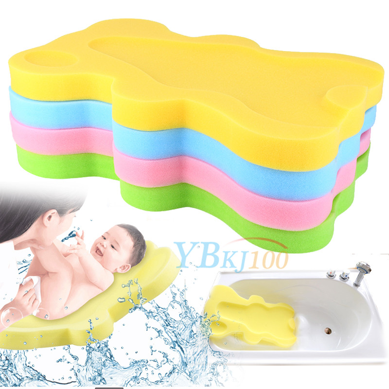 bath sponge support safety aid bathing mat foam non slip cushion for baby inf. Black Bedroom Furniture Sets. Home Design Ideas