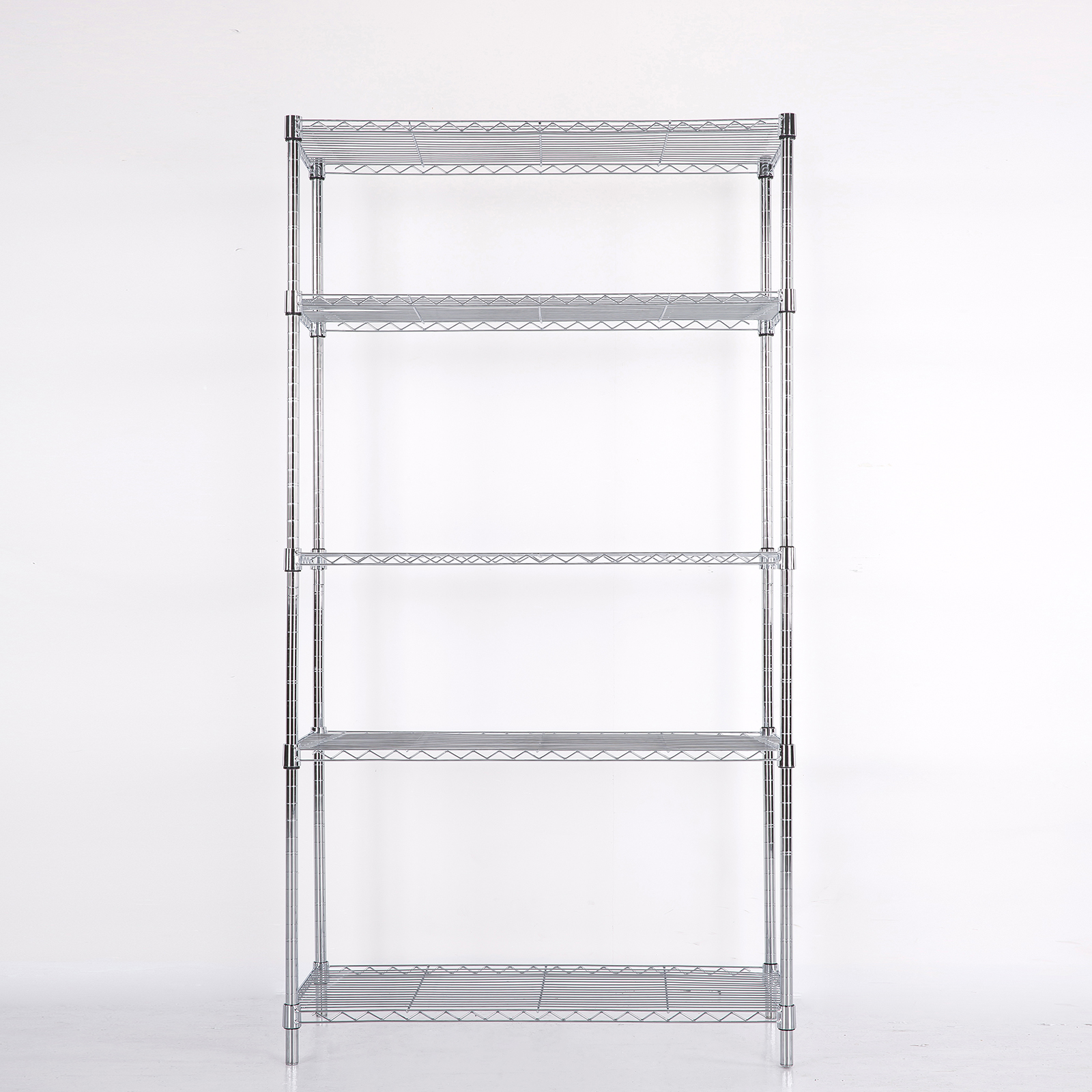 73 x36 x14 wire metal shelving rack 5 tier layer shelf. Black Bedroom Furniture Sets. Home Design Ideas
