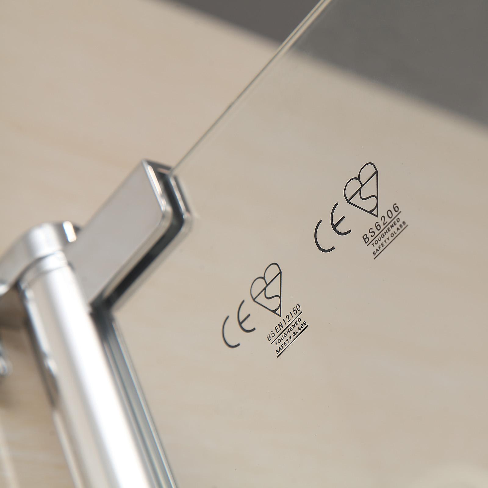 Bn 180 176 Pivot Radius Frameless Glass Over Bath Shower