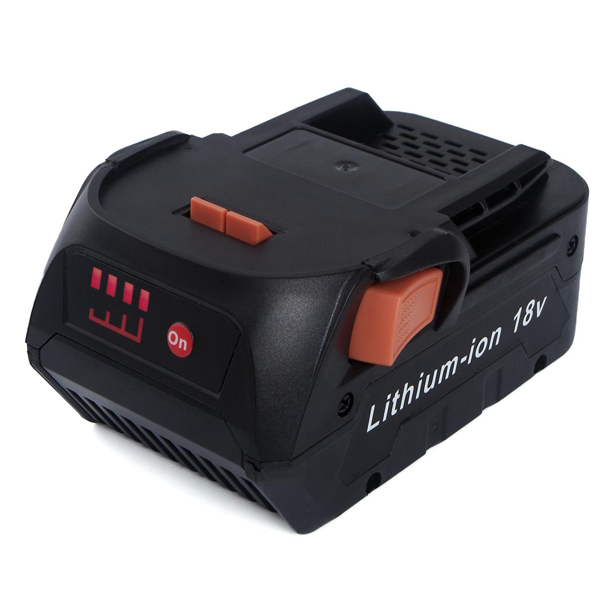 new 2 pack for ridgid 18v 18 volt hyper lithium. Black Bedroom Furniture Sets. Home Design Ideas