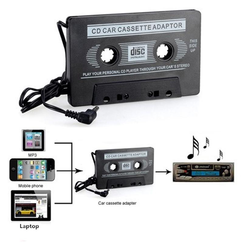 car suv music audio cassette tape aux adapter converter ipod cd sony mp3 ebay. Black Bedroom Furniture Sets. Home Design Ideas