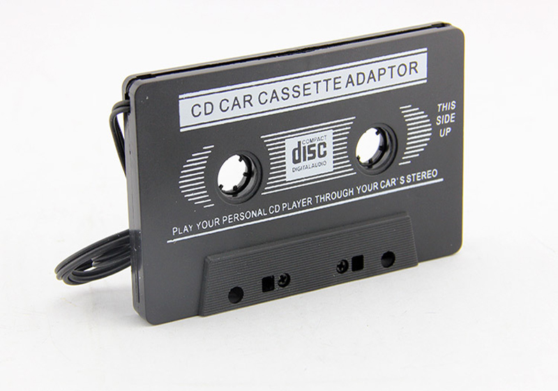 audio aux car cassette tape adapter converter 3 5 mm for smart phone mp3 mp4 cd ebay. Black Bedroom Furniture Sets. Home Design Ideas