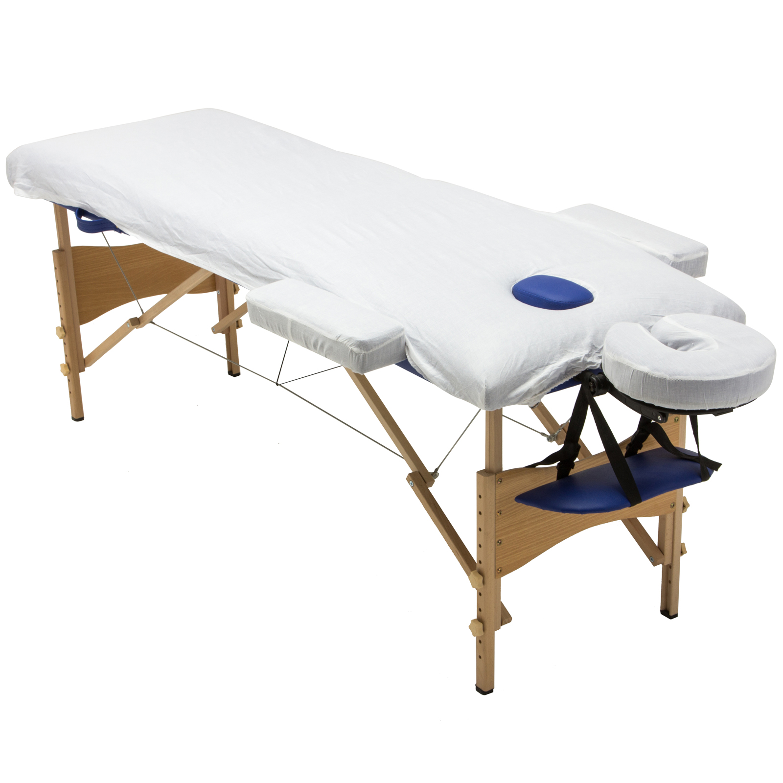 3 fold 84 l massage table portable facial spa bed sheet 2 bolsters cradle hanger ebay - How much is a massage table ...