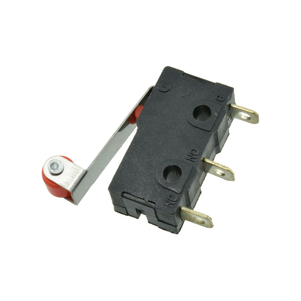 Limit Switch Lever Arm : Pcs normally open roller lever arm close limit switch