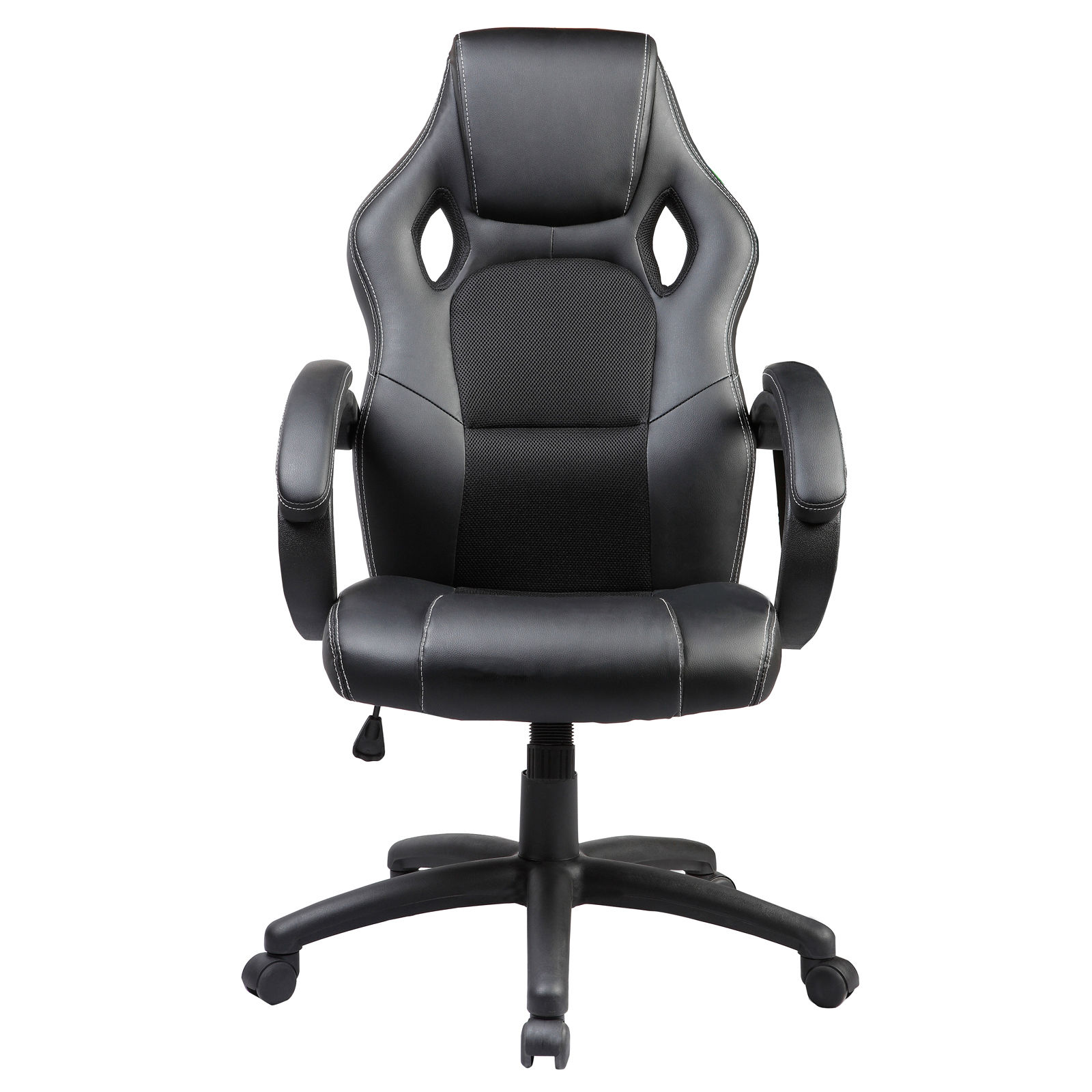 Ergonomic Executive High Back PU Leather Desk Computer Office Chair Black Am
