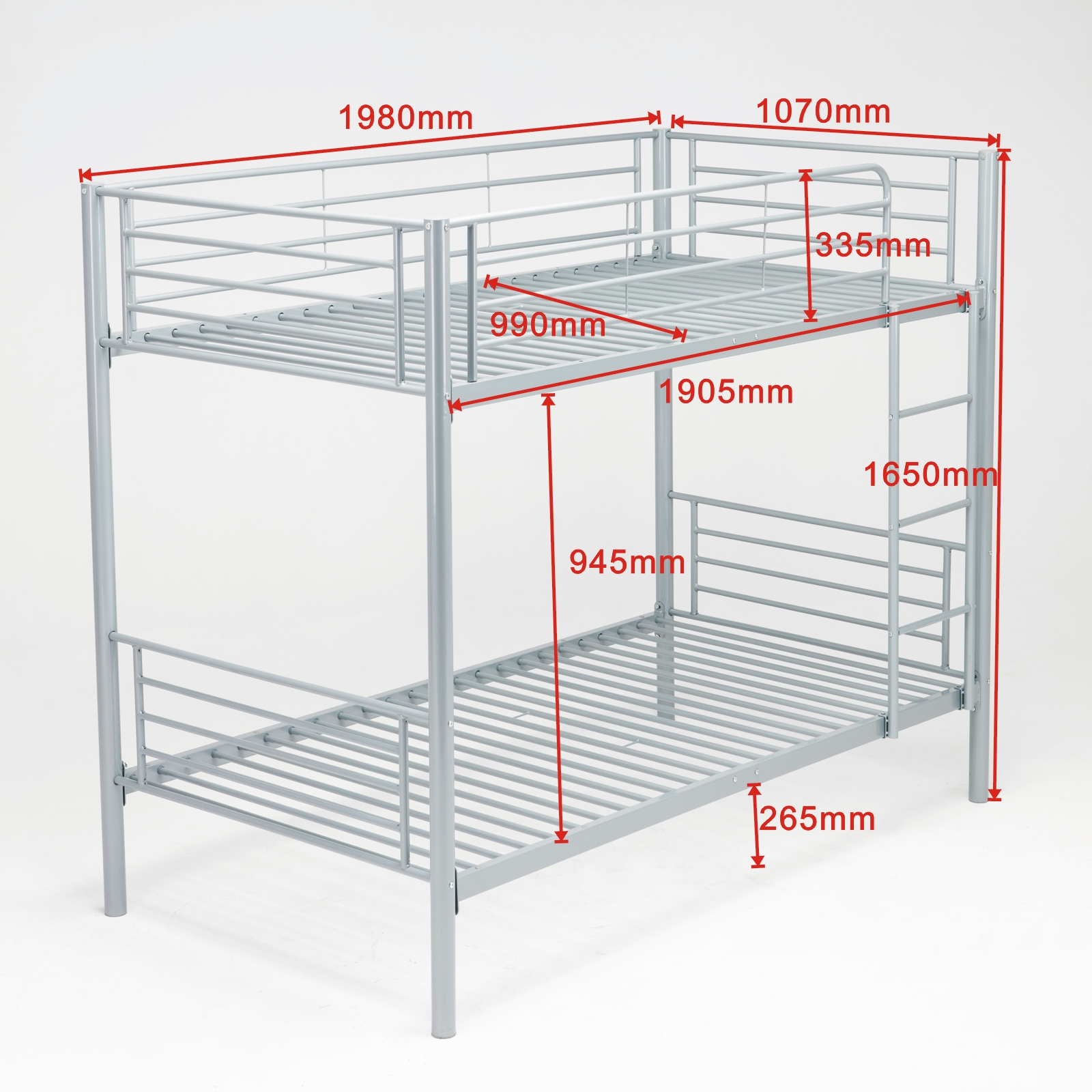Twin Bunk Bedroom Kids Adult