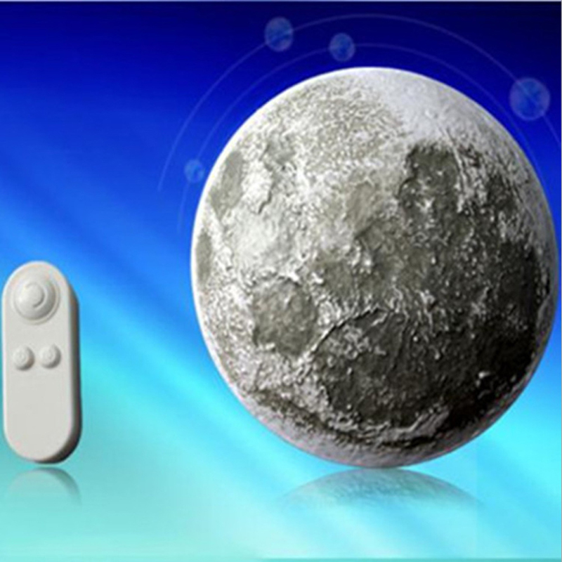 Wall Switch Light Control Remote With 1 Outlet Receiver : Remote Control Moon In My Room Healing Moon Wall Light Lamp Novelty Gift S eBay