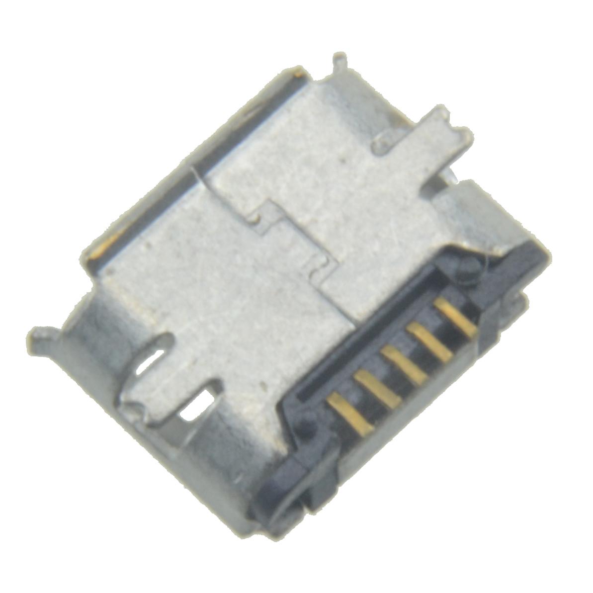 Pcs micro usb pin b type female jack socket connector