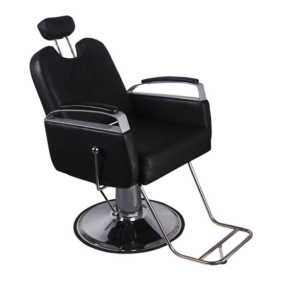 Barber Chair Salon Hydraulic Hair Styling Beauty Spa Equipment Black 17