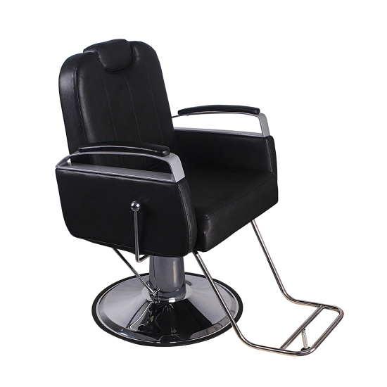 Barber Chair Salon Hydraulic Hair Styling Beauty Spa Equipment Black 12