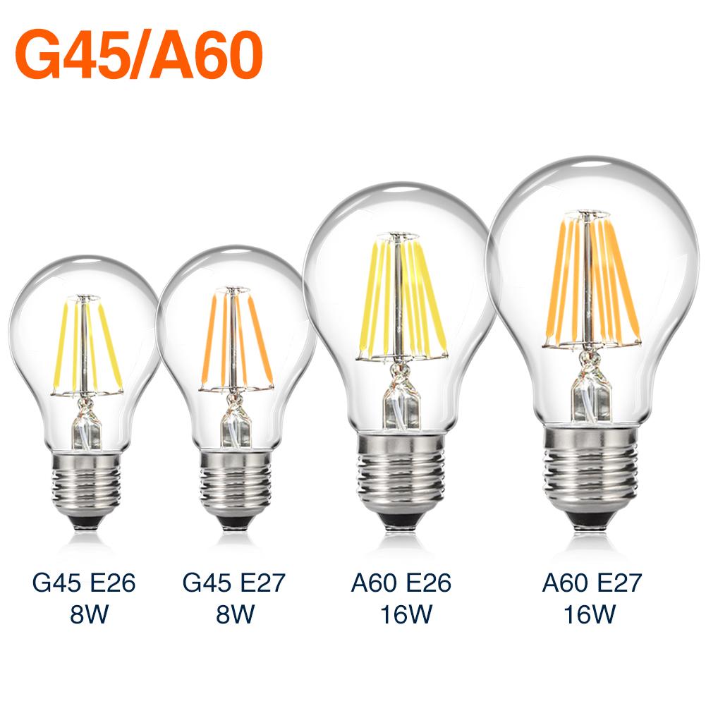 e14 e27 e26 retro filament led bulb dimmable light novel edison desk lamps 04af ebay. Black Bedroom Furniture Sets. Home Design Ideas