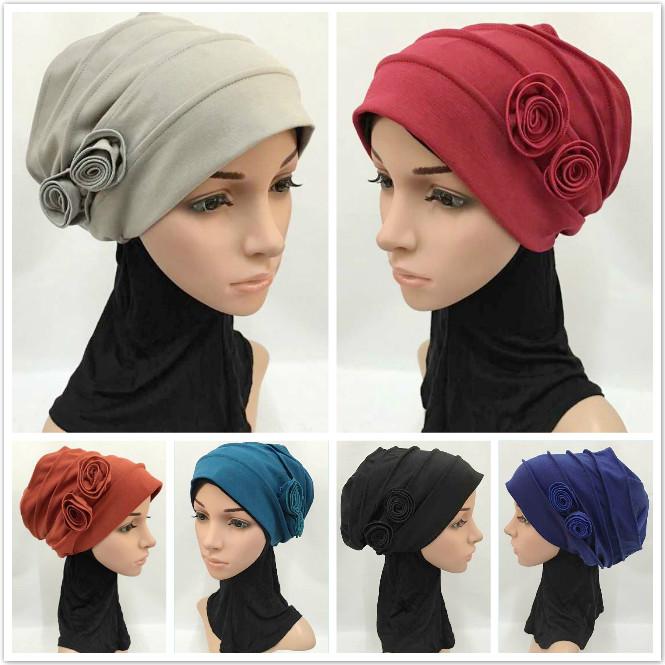 Шапочка под хиджаб своими руками 30