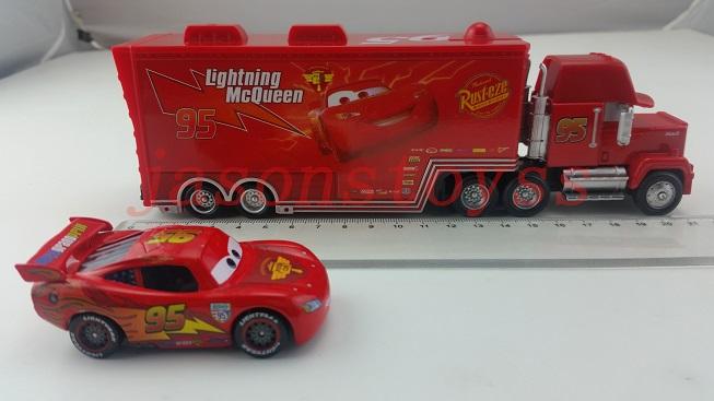 Lightning Mcqueen Mack Truck : Disney pixar car no mack racer s truck lightning