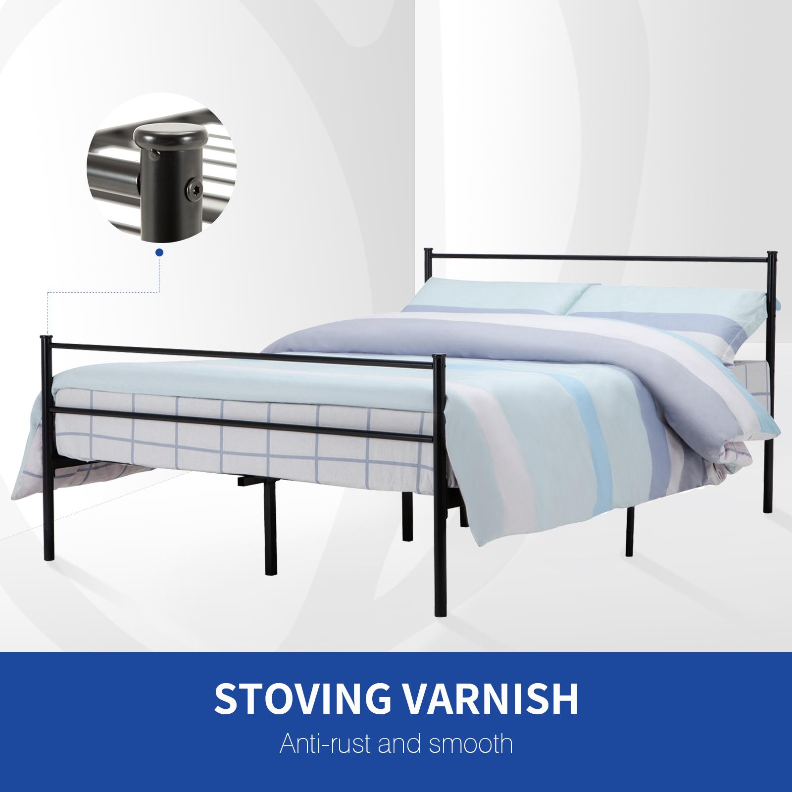Amazoncom Bed Frame Twin Size Yanni Easy Setup Premium