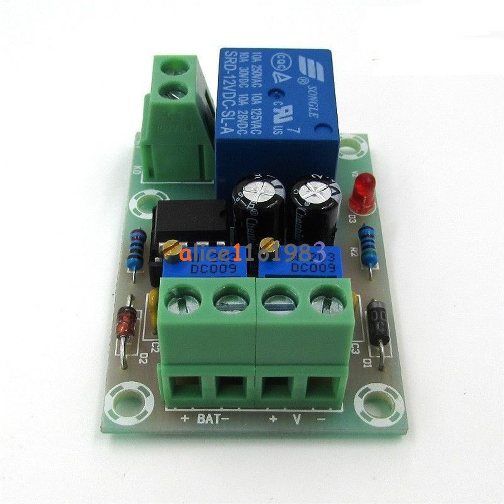 12V/24V 6-60V Battery Charging Control Board Charger Power Supply Switch Module