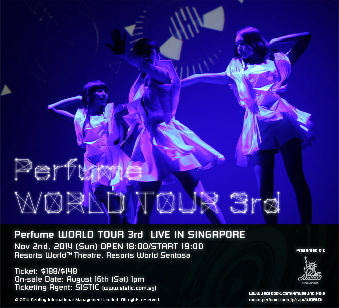 Perfume WORLD TOUR 3rd (Singapore)
