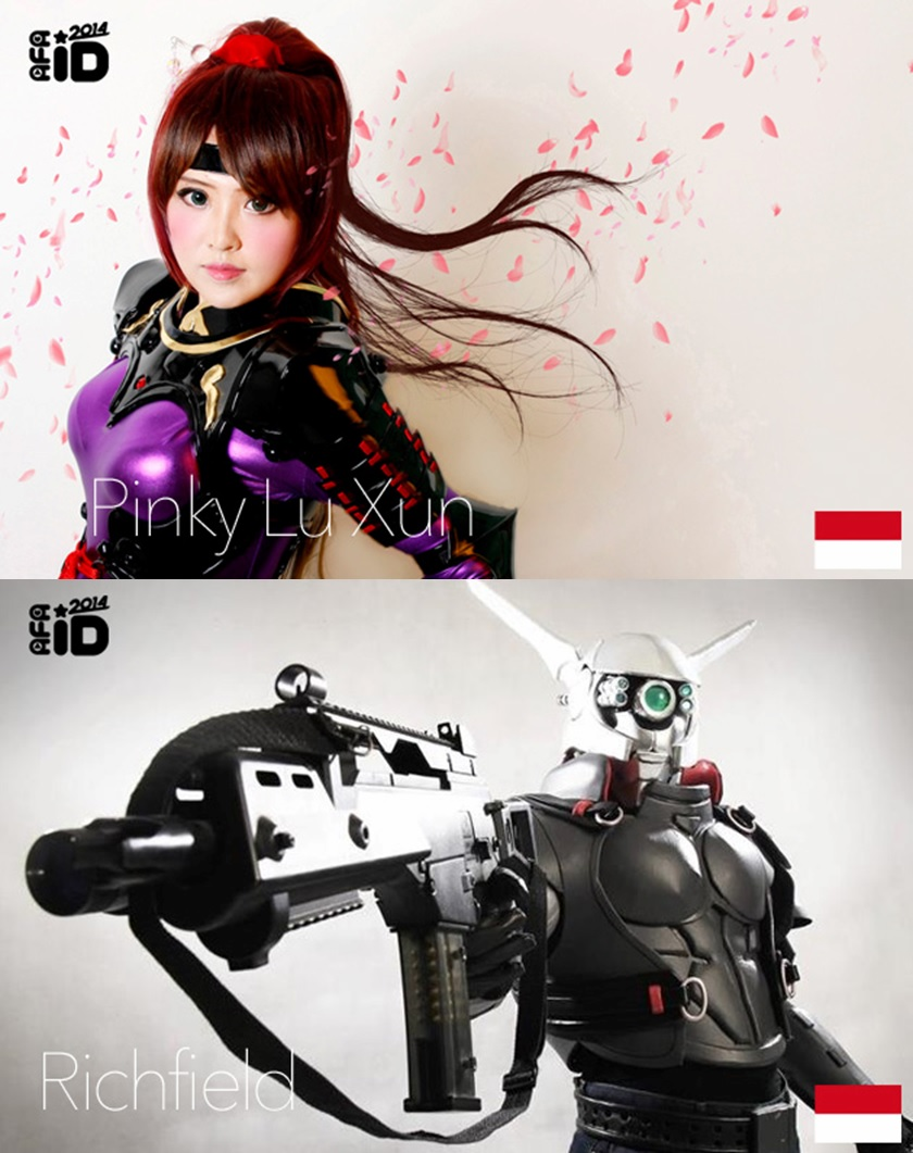AFA ID 2014 : BEST OF ASIA COSPLAYERS – Pinky Lu Xun & Richfield (Indonesia)