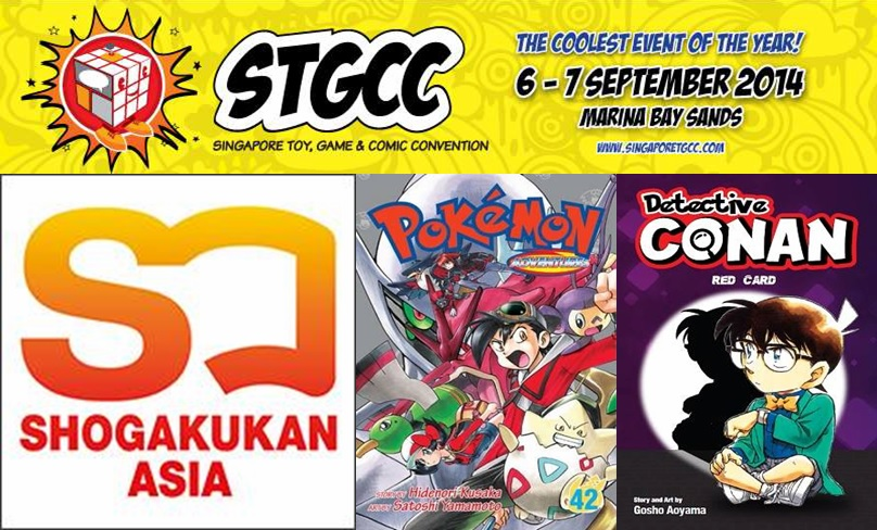 STGCC 2014 Booth Feature: Shogakukan Asia