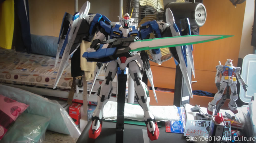 PG Gundam 00 Raiser complete! Next? The detailing will follow.