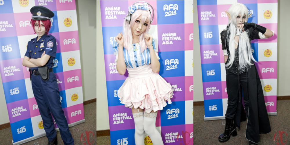 AFA ID 2014: Interview with King, Mon and Yuegene Fay