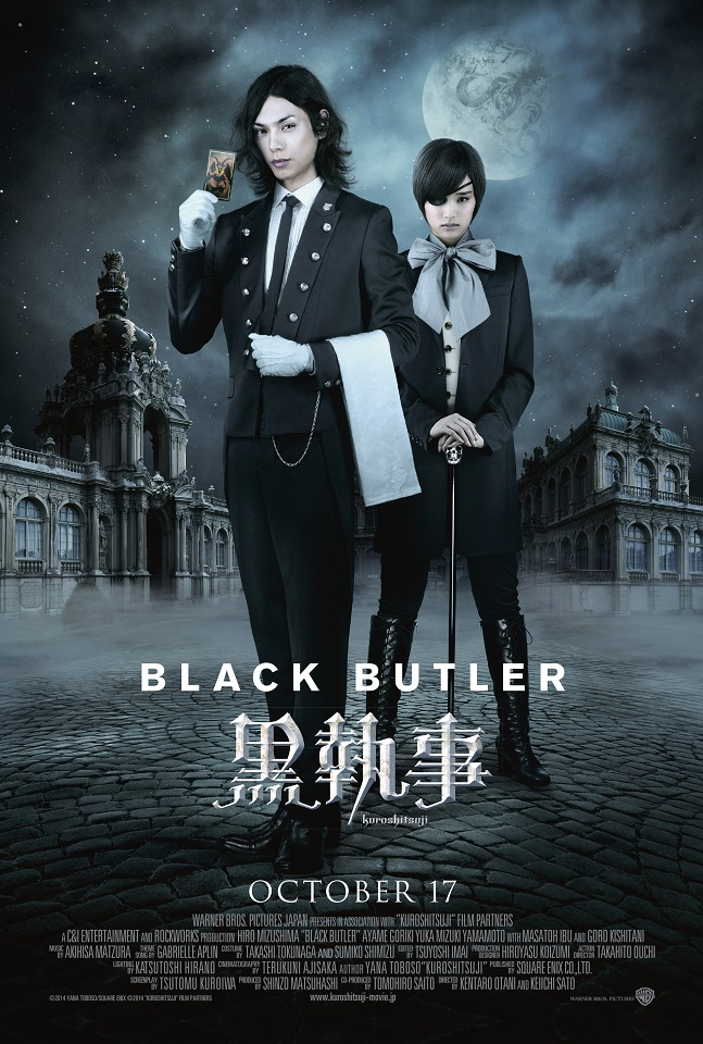 Live-Action BLACK BUTLER Opening in UK on 17th Oct 2014