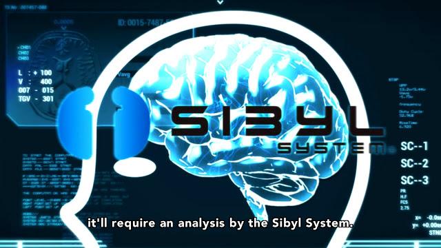 Psycho Pass 3-2 Sibyl System
