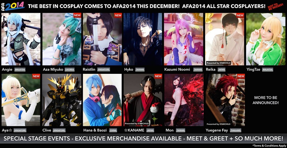 AFA SG Cosplay 2014