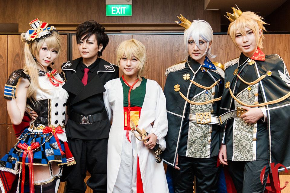 AFA SG 2014: Hyko, Kazumi Noomi, Mon, Hana & Baozi