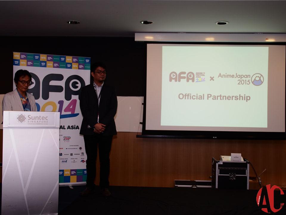 AFA SG 2014: Anime Japan 2015