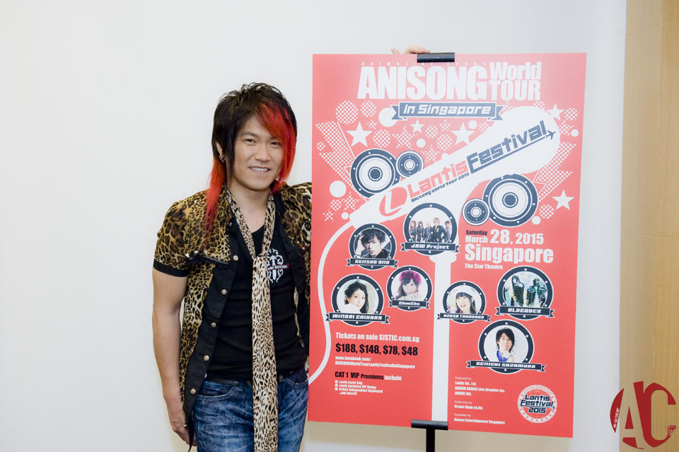 AFA SG 2014: Interview with Kitadani Hiroshi