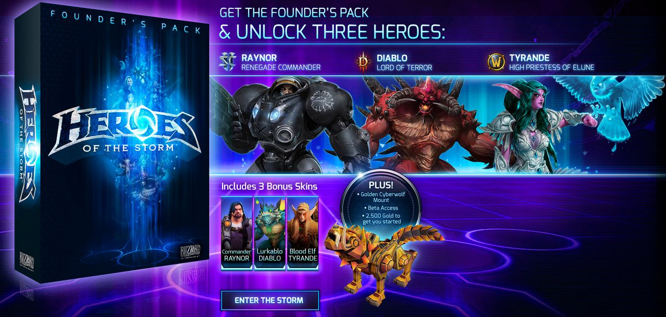 Heroes of the Storm™ Founder's Pack
