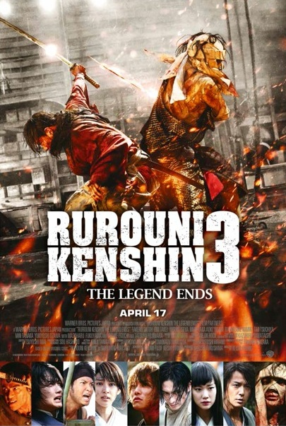RUROUNI KENSHIN 3: THE LEGEND ENDS Opening In UK Cinemas On 17th Apr 2015