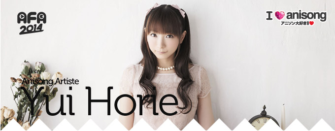 AFA SG 2014 : Interview with Yui Horie